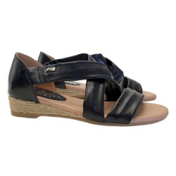 WOMAN'S SANDALS WITH FAUX LEATHER BAND